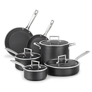 KitchenAid KCH2S10KM 10-Piece Cookware Set