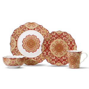 222 Fifth Lyria 16-Piece Set Dinnerware Set