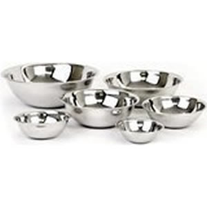 Adcraft Stainless Steel Mixing Bowl Set 6 piece Review