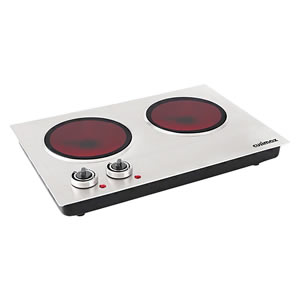 Cusimax CMIP-C180 Ceramic Double Countertop Burner