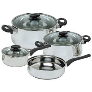 Magefesa Deliss Stainless Steel 7-Piece Cookware Set Review