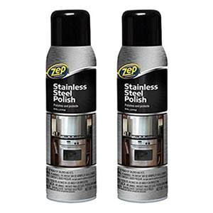 Zep Commercial Stainless Steel Cleaner 2-Pack