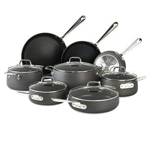All-Clad E785SB64 HA1 Hard Anodized 13-Piece Nonstick Cookware Set Review