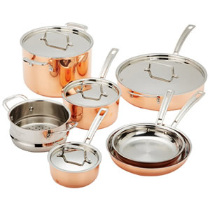 Cuisinart CTP-11AM Copper Tri-Ply 11-Piece Cookware Set Review
