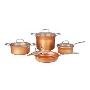 CONCORD 8 Piece Ceramic Coated Copper Cookware Review