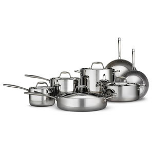 Tramontina Tri-ply Clad 12 Piece Stainless Steel Cookware Set Review