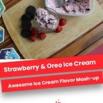 Strawberry & Oreo Ice Cream
