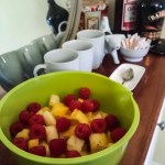 Fruit Salad with Honey Citrus Vinaigrette