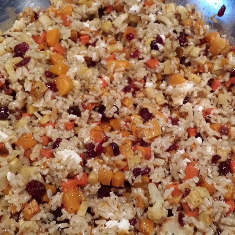 Harvest Brown Rice Salad Mixed