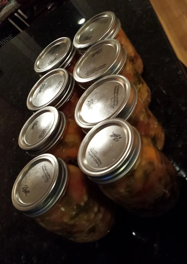 Cans of Soup