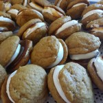 Mini Pumpkin Whoopie Pies