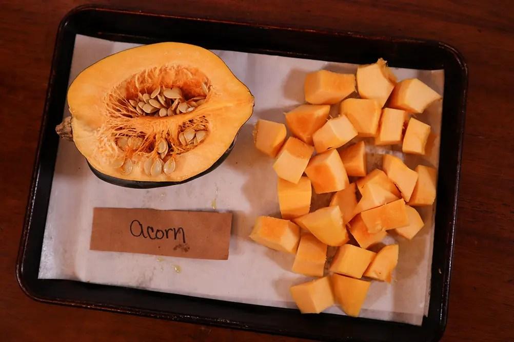 Raw Acorn Squash