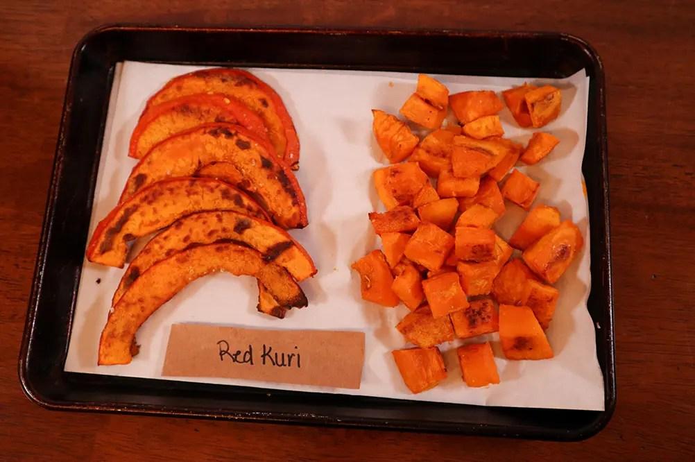 Cooked Red Kuri Squash