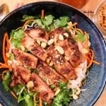 Lemongrass Pork Rice Noodle Bowls