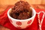 Reindeer Poop Cookies - Quick & Easy No-Bake Christmas Cookies