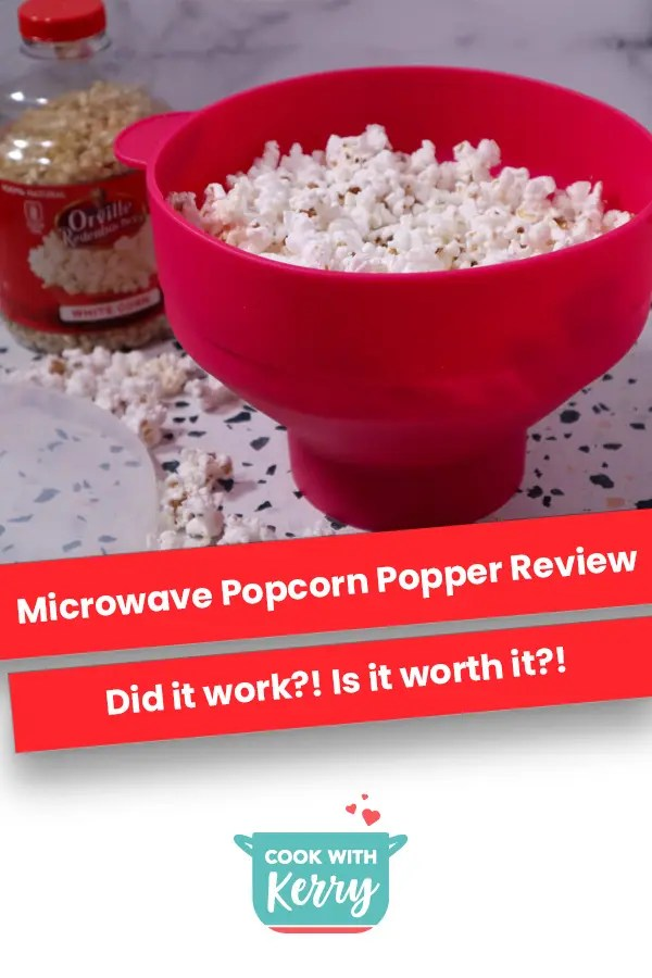 microwave popcorn popper review cook