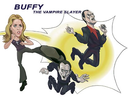 Cool-Caricatures for publication- Buffy