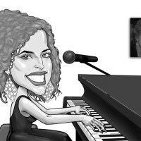 Black and White Caricatures