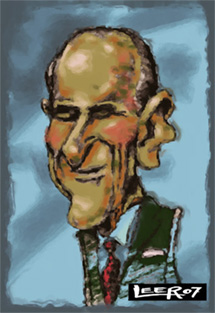 Publication caricatures of Prince Phillip