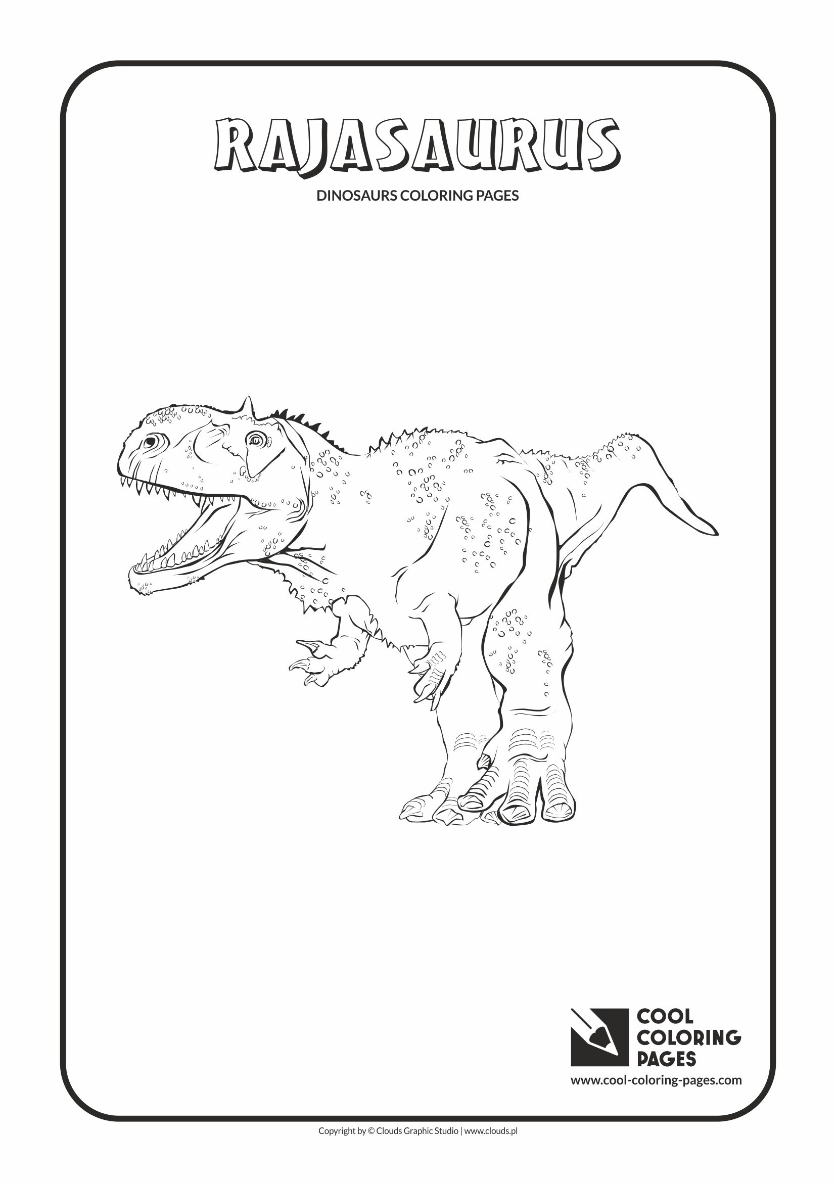 Dinosaur Coloring Pages Toddlers