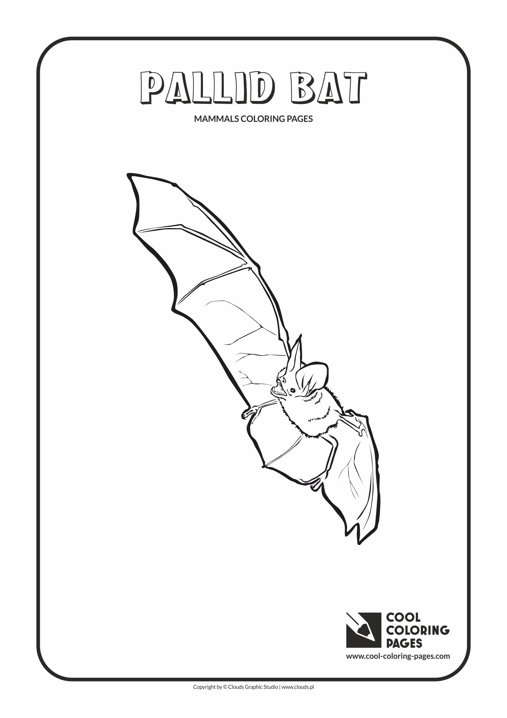 Cool Coloring Pages Mammals Coloring Pages