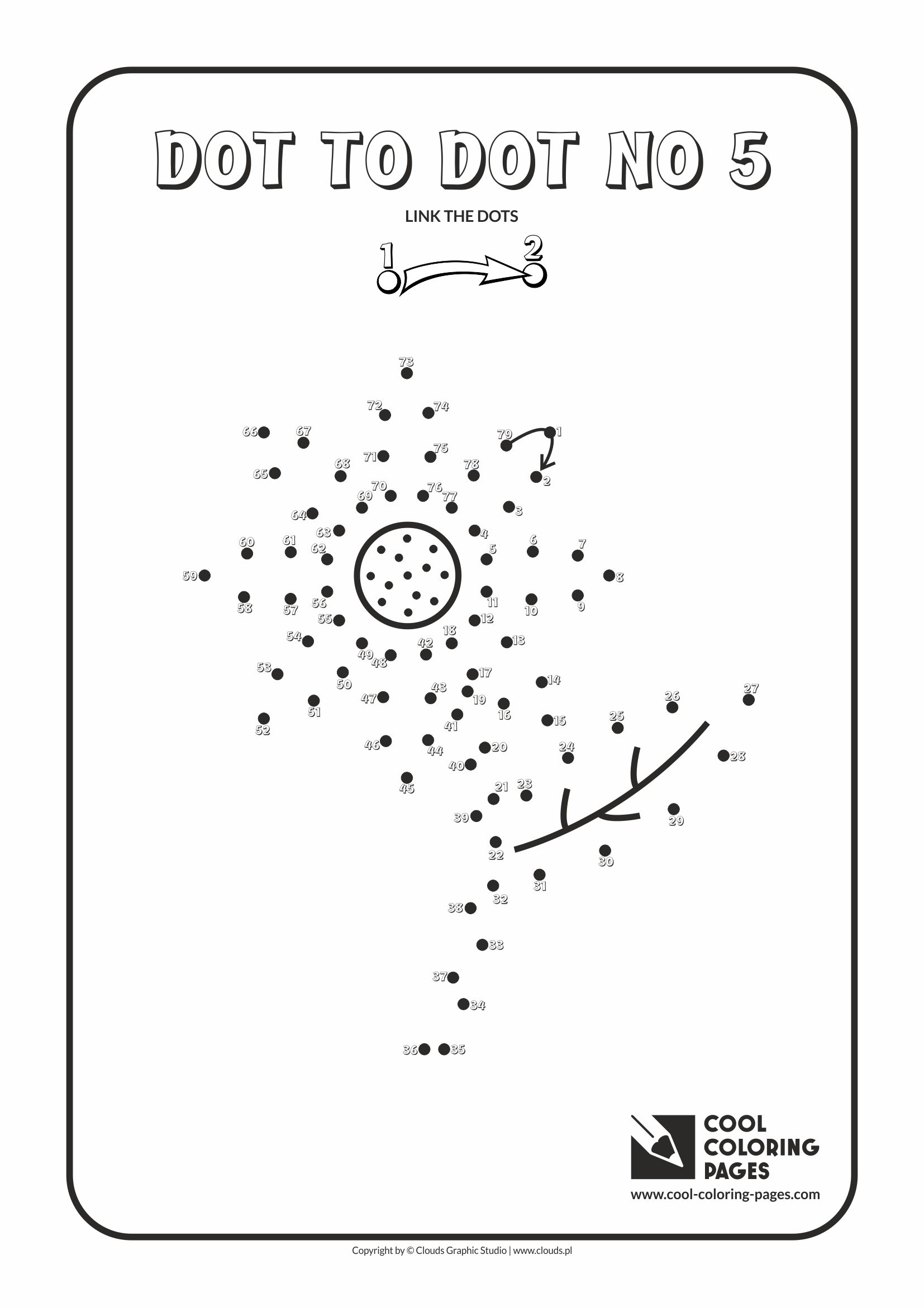 Cool Coloring Pages Dot To Dot