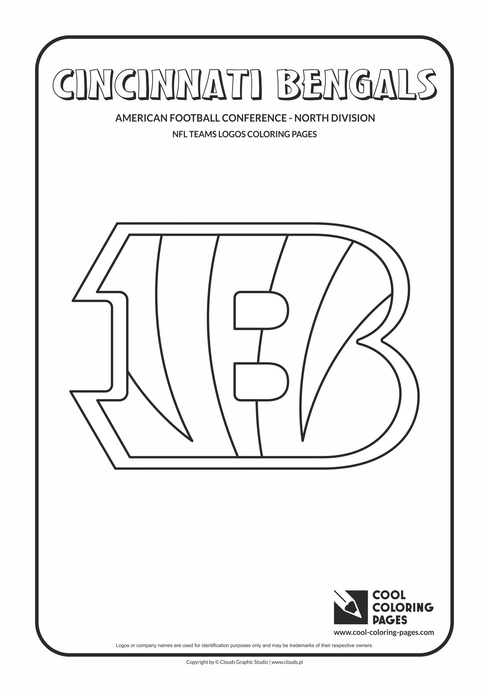 Cool Coloring Pages Nfl Teams Logos Coloring Pages