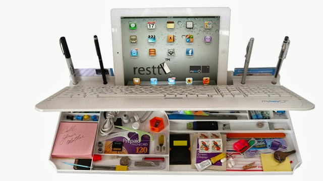 Bluetooth-Multimedia-Keyboard-6Products-in-ONE-iPad-phone-pen-Stand-organizer-More-3
