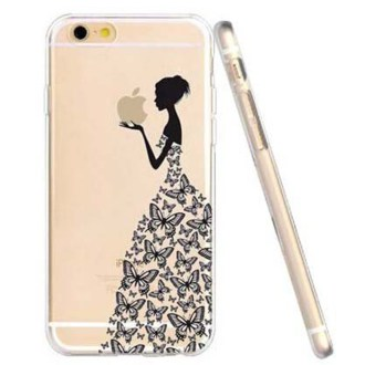 Transparent iPhone 6 Case Girls Love