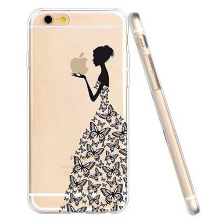 Transparent iPhone 6 Case Girls Love
