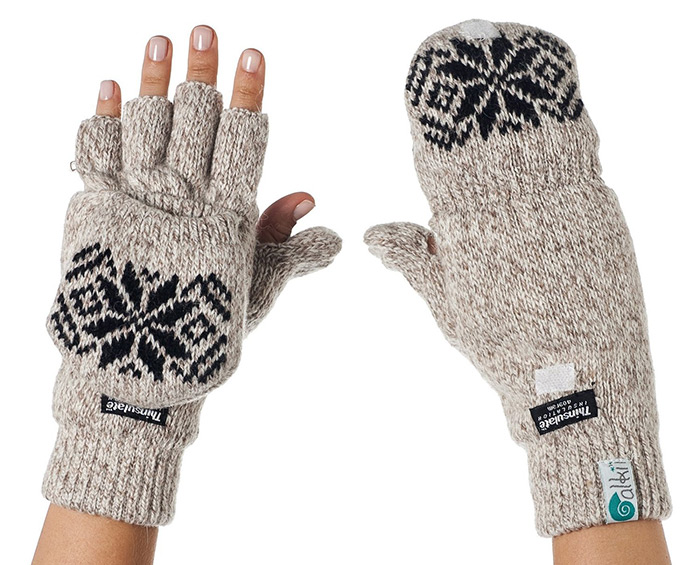 Cool gifts for men texting mittens