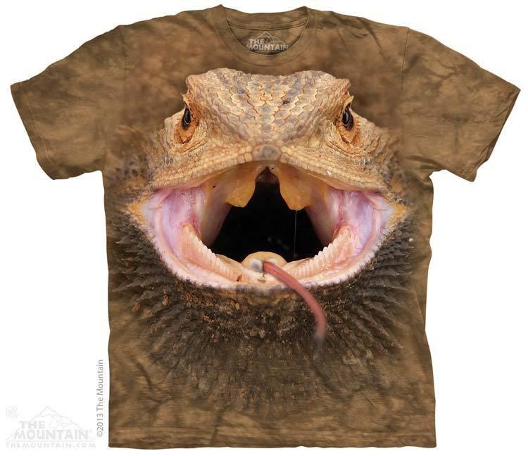 Bearded Shirt T 3d Dragon