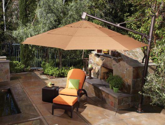 treasure garden 13 octagon cantilever umbrella