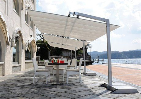 fim flexy aluminum 8 x 12 rectangular offset patio umbrella