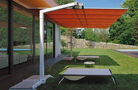 fim flexy aluminum 8 x 14 rectangular offset patio umbrella