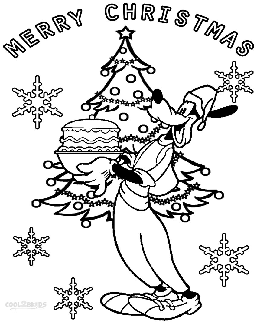 Printable Goofy Coloring Pages For Kids Cool2bKids