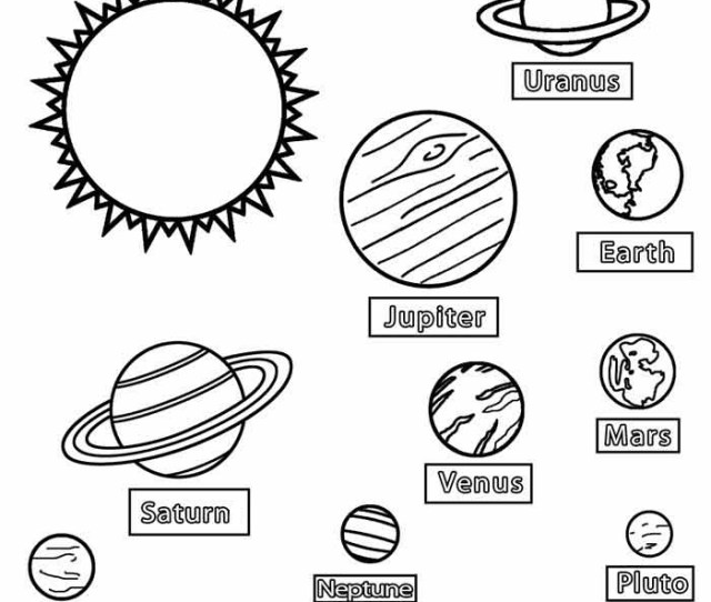 Printable Planet Coloring Pages For Kids Coolbkids