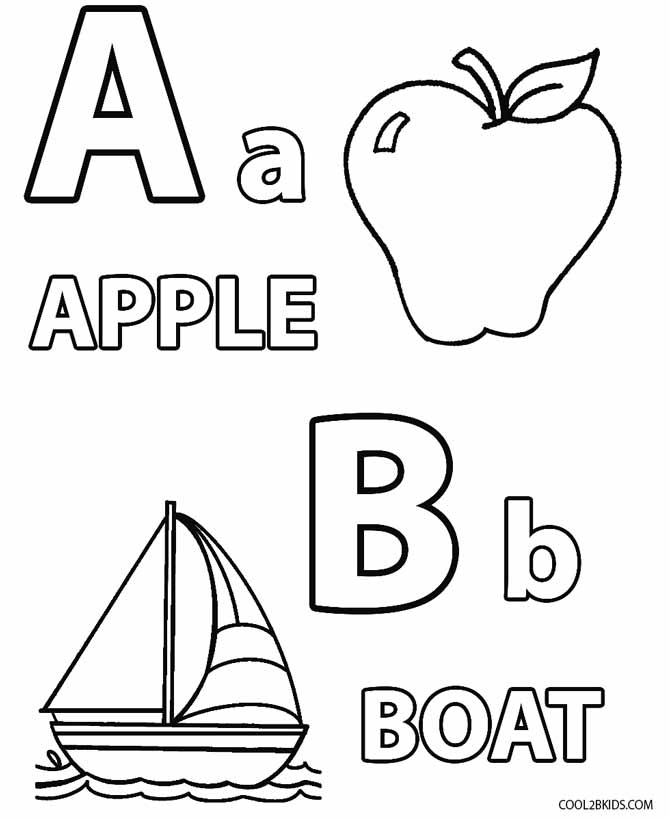 Printable Toddler Coloring Pages For Kids | Cool2bKids | colouring sheets for toddlers
