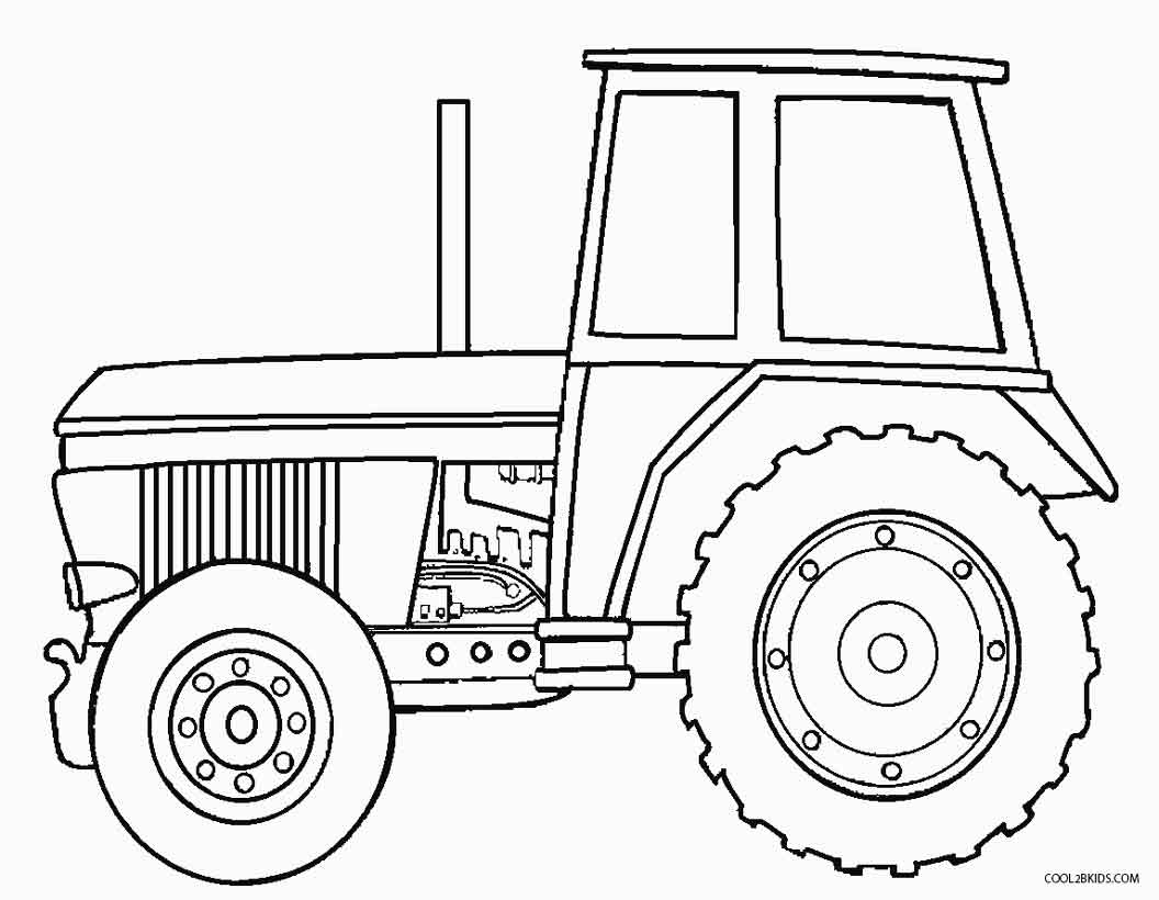 Printable John Deere Coloring Pages For Kids