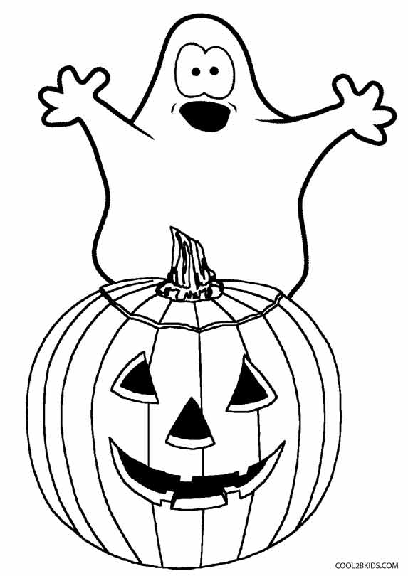 Printable Ghost Coloring Pages For Kids Cool2bKids