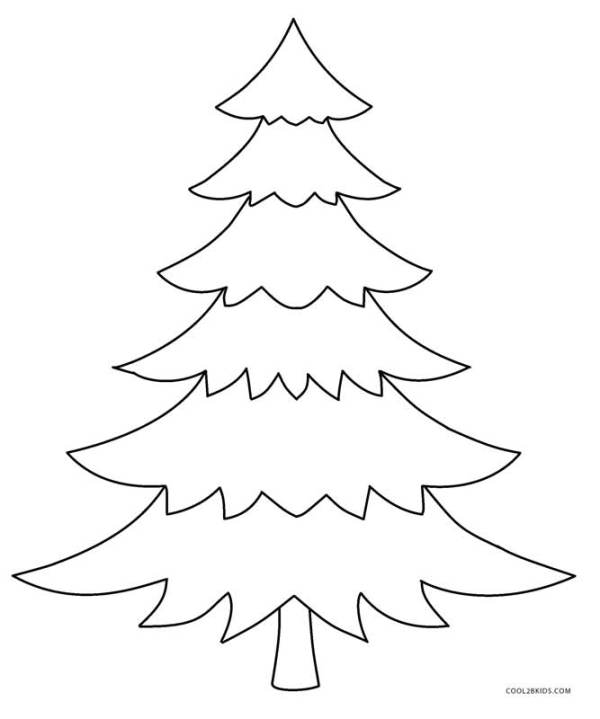 coloring pages christmas tree # 12