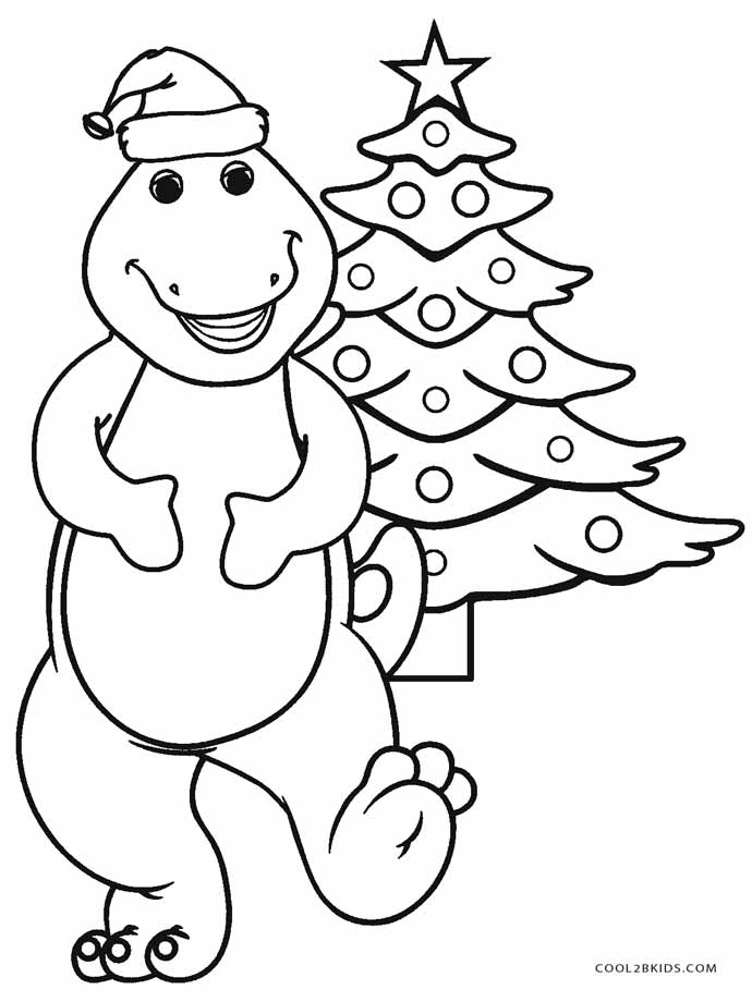 Free Printable Barney Coloring Pages For Kids | Cool2bKids | christmas colouring pages