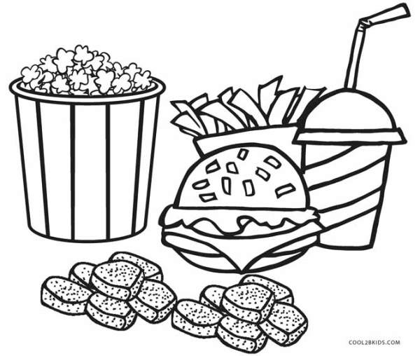 food coloring page # 1