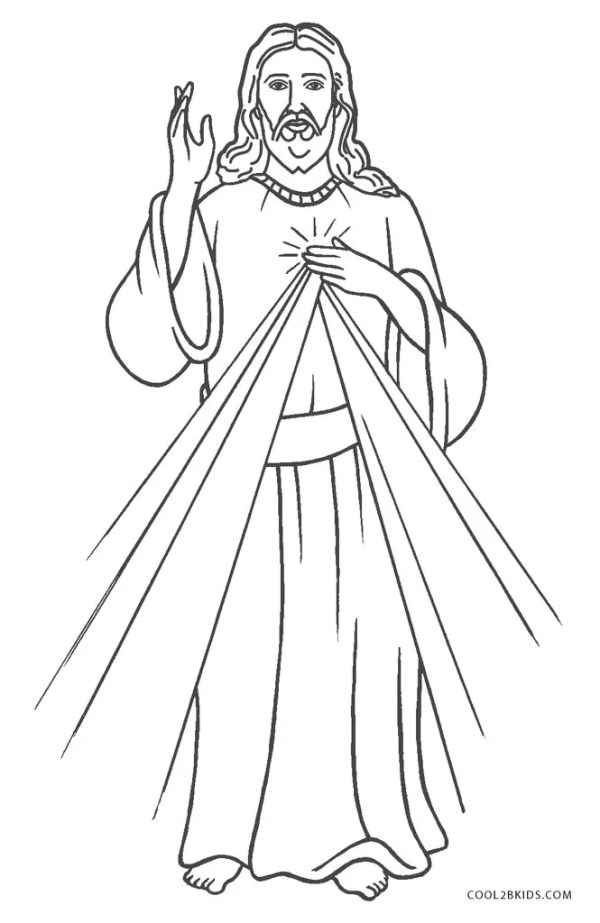 coloring pages jesus # 0