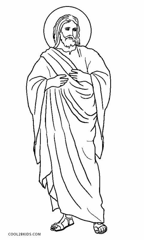 coloring pages jesus # 26
