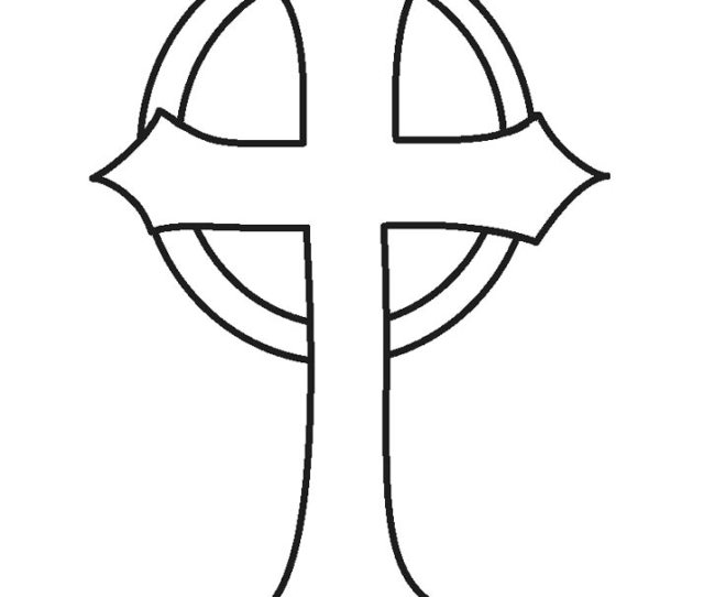 Free Printable Cross Coloring Pages For Kids Coolbkids
