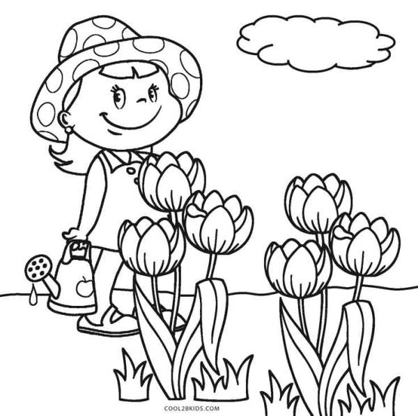 free coloring pages flowers # 10