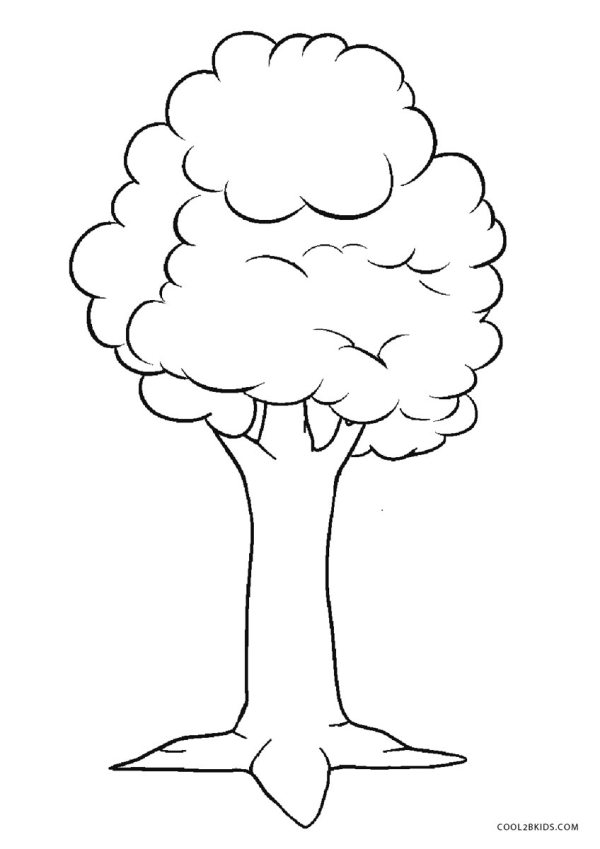 coloring pages of trees # 2