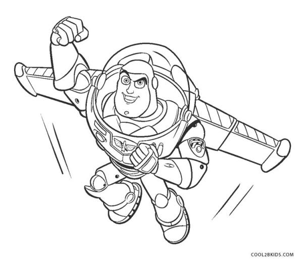 buzz lightyear coloring page # 13