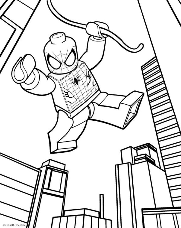 coloring pages lego # 7